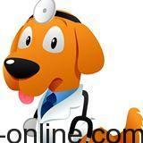 logo veterinario online